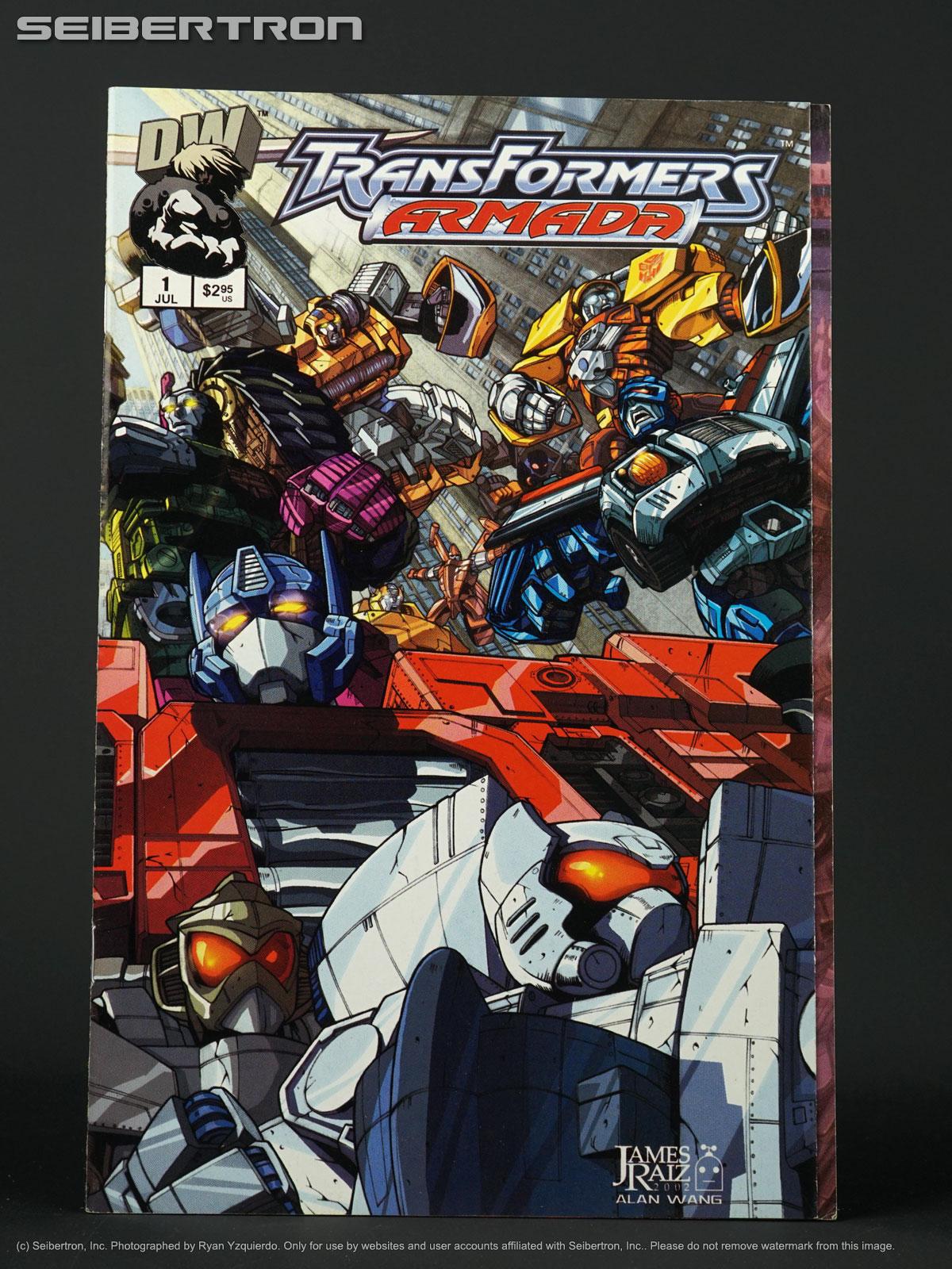 Transformers PRIME DIRECTIVE #1 Vol 1 2nd Print G1 Optimus 2002 Dreamwave Comic