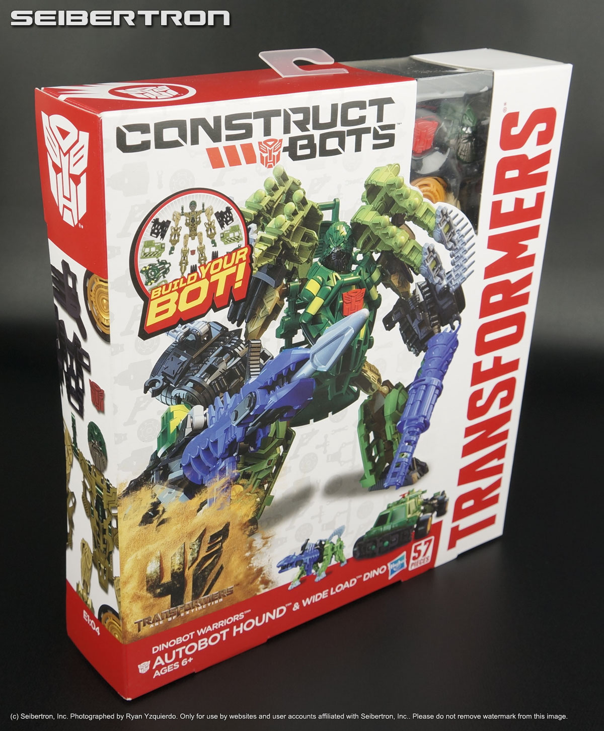 WIDE-LOAD Dinobot Warriors Transformers Age Extinction AOE Construct-Bots HOUND