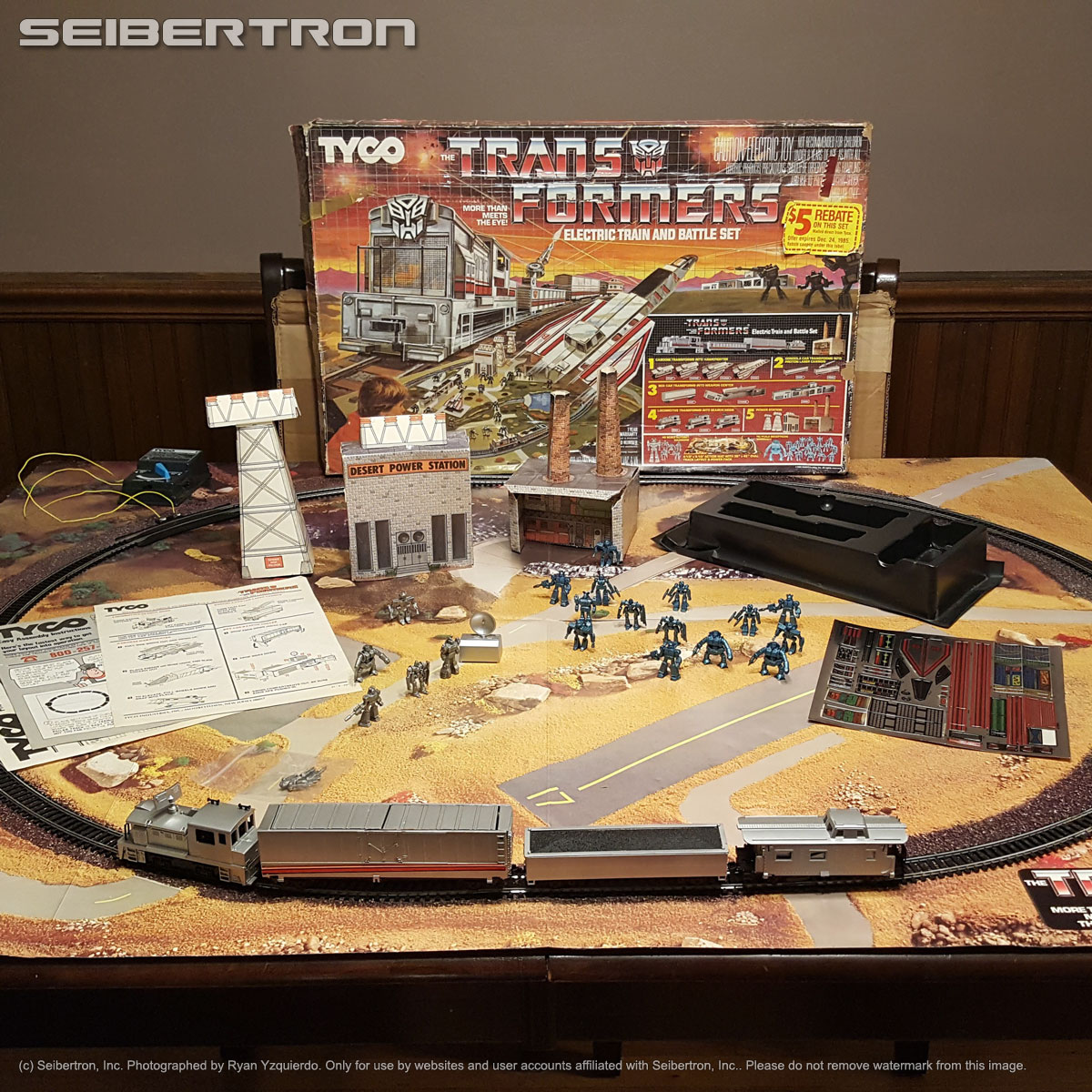 Tyco Transformers Electric Train And
