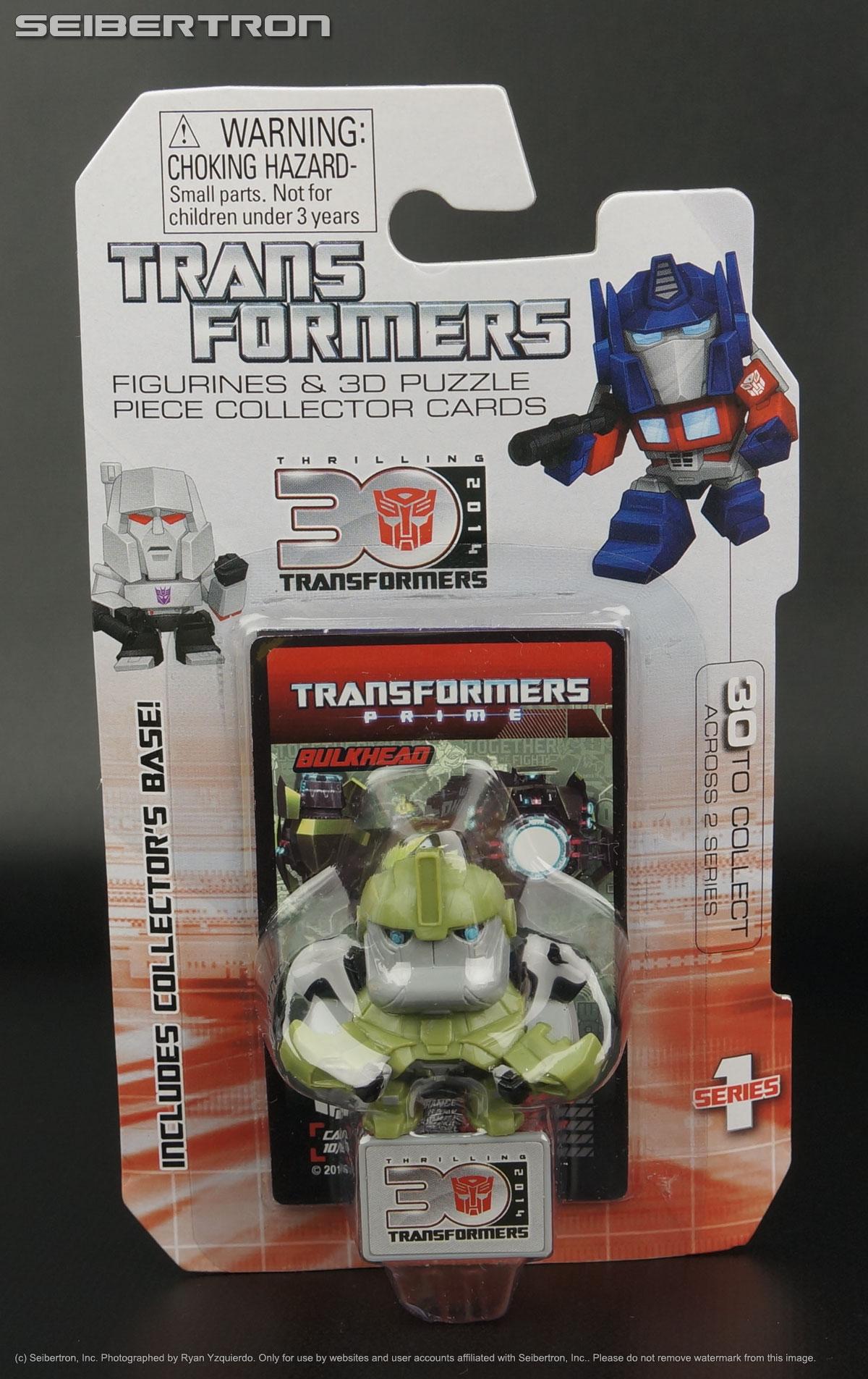 3D Puzzle Piece 30th Anniv Goldie RATCHET Transformers Prime Mini Figurine