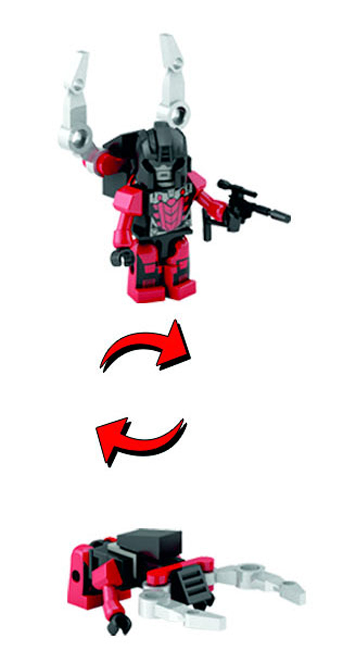 Transformers, Teenage Mutant Ninja Turtles, Masters of the Universe, Comic Books and more! listings from Seibertron.com: SKRAPNEL Transformers Kre-o Micro-Changers Series 5 45 Kreon Insecticon Shrapnel