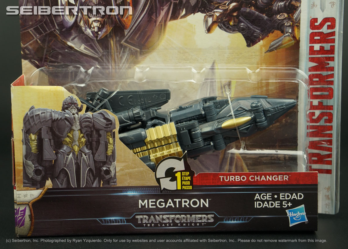 one step turbo changer megatron transformers the last knight tlk new 2017 ebay. Black Bedroom Furniture Sets. Home Design Ideas