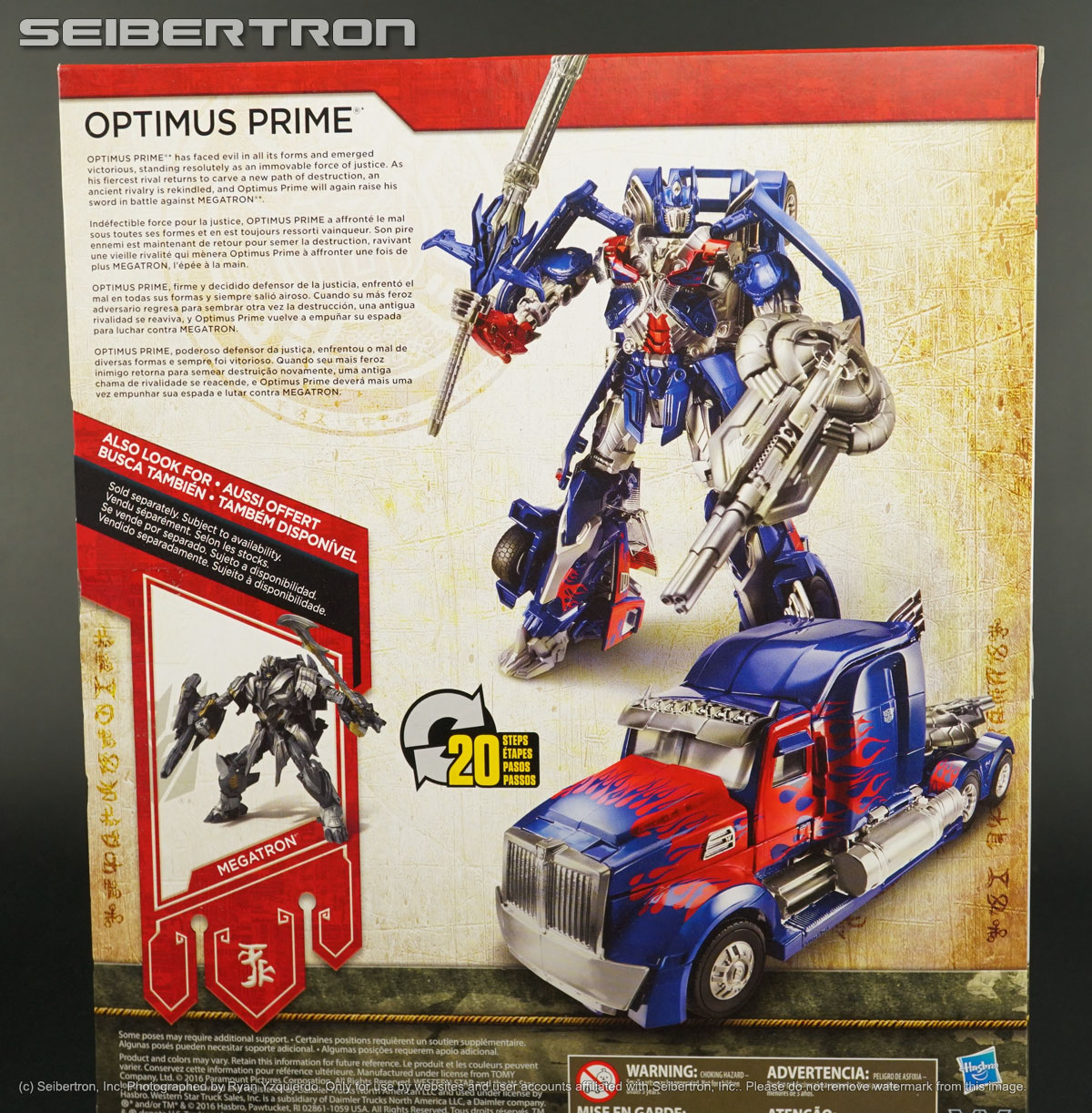 Leader Class OPTIMUS PRIME Transformers The Last Knight