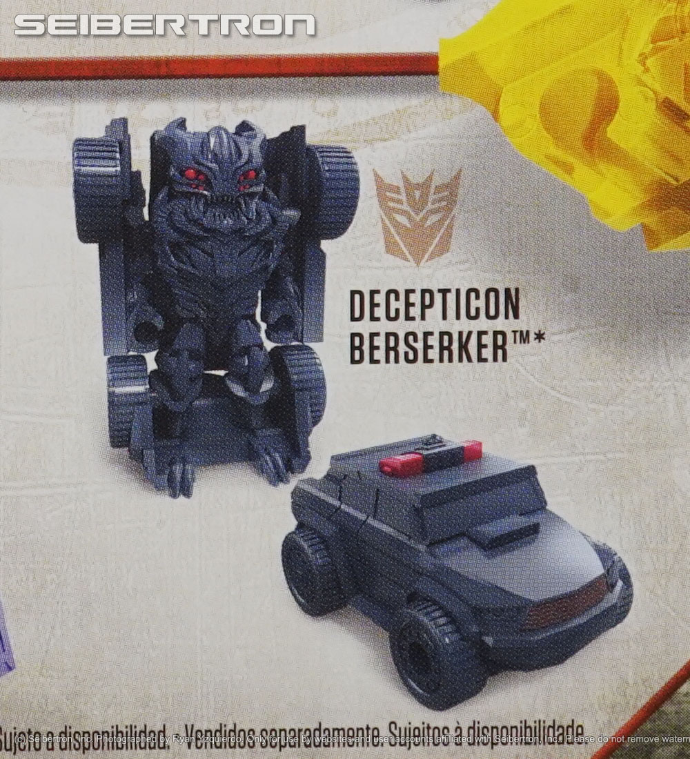 Tiny Turbo Changers Series 2 BERSERKER Transformers The