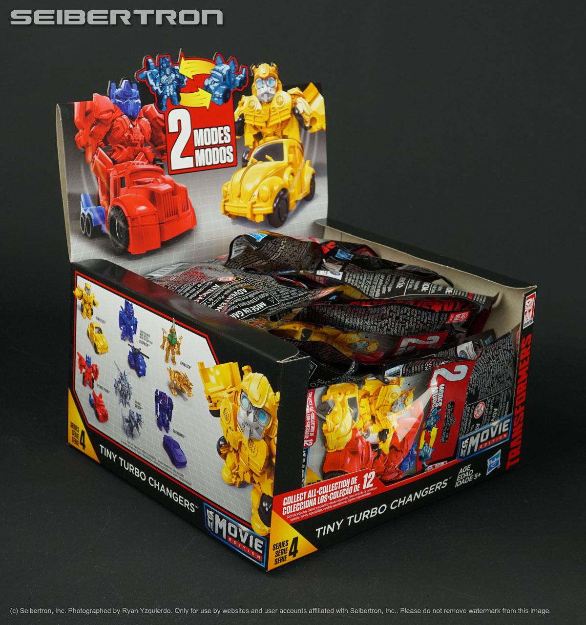 Quatre Série 3 transformateurs TINY TURBO changeurs Movie Edition Hasbro génération