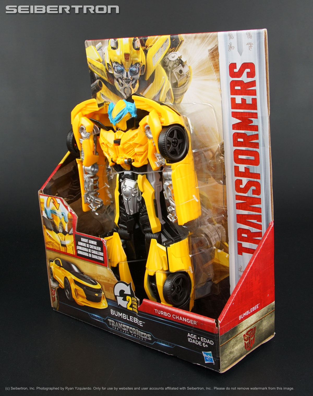 knight armor turbo changer bumblebee transformers last knight tlk new 2017 ebay. Black Bedroom Furniture Sets. Home Design Ideas