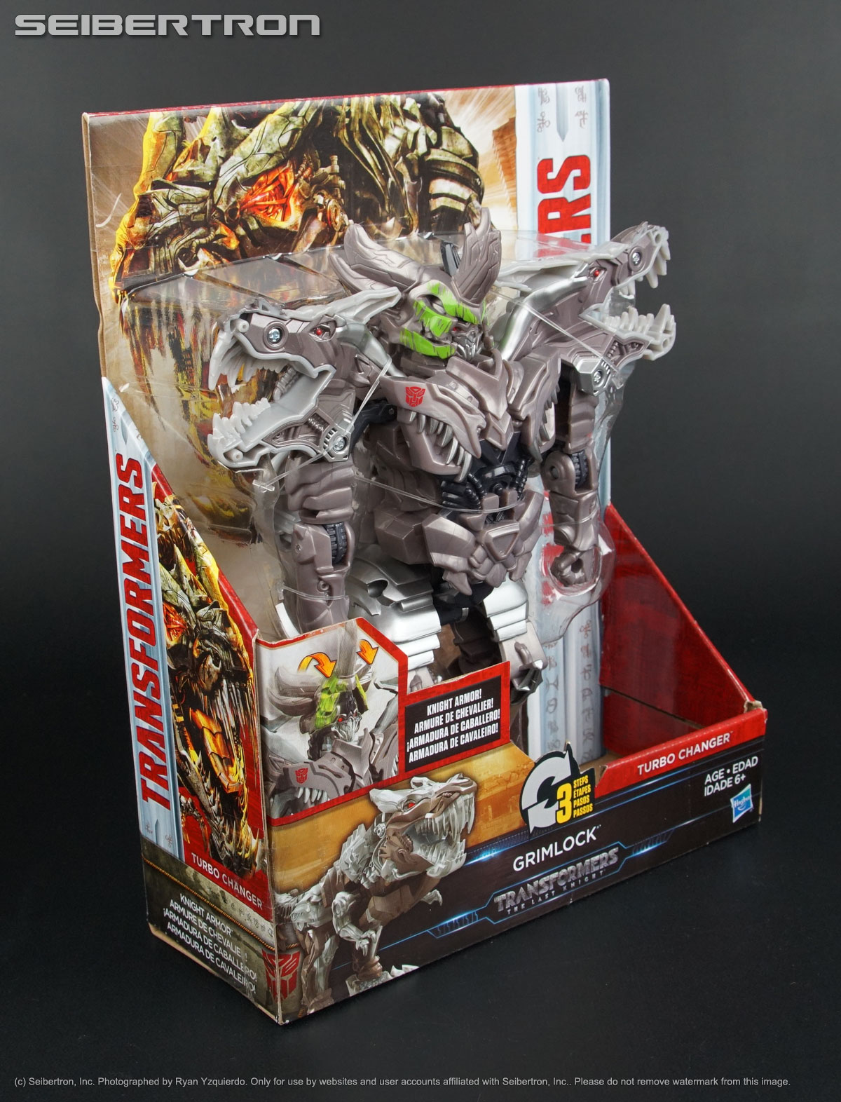knight armor turbo changer grimlock transformers last knight tlk new 2017 ebay. Black Bedroom Furniture Sets. Home Design Ideas