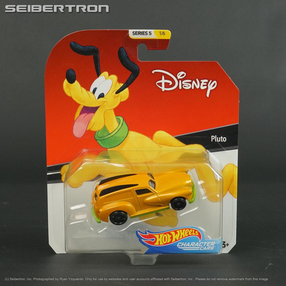 Pluto Disney Hot Wheels Diecast Car 1:64 Scale