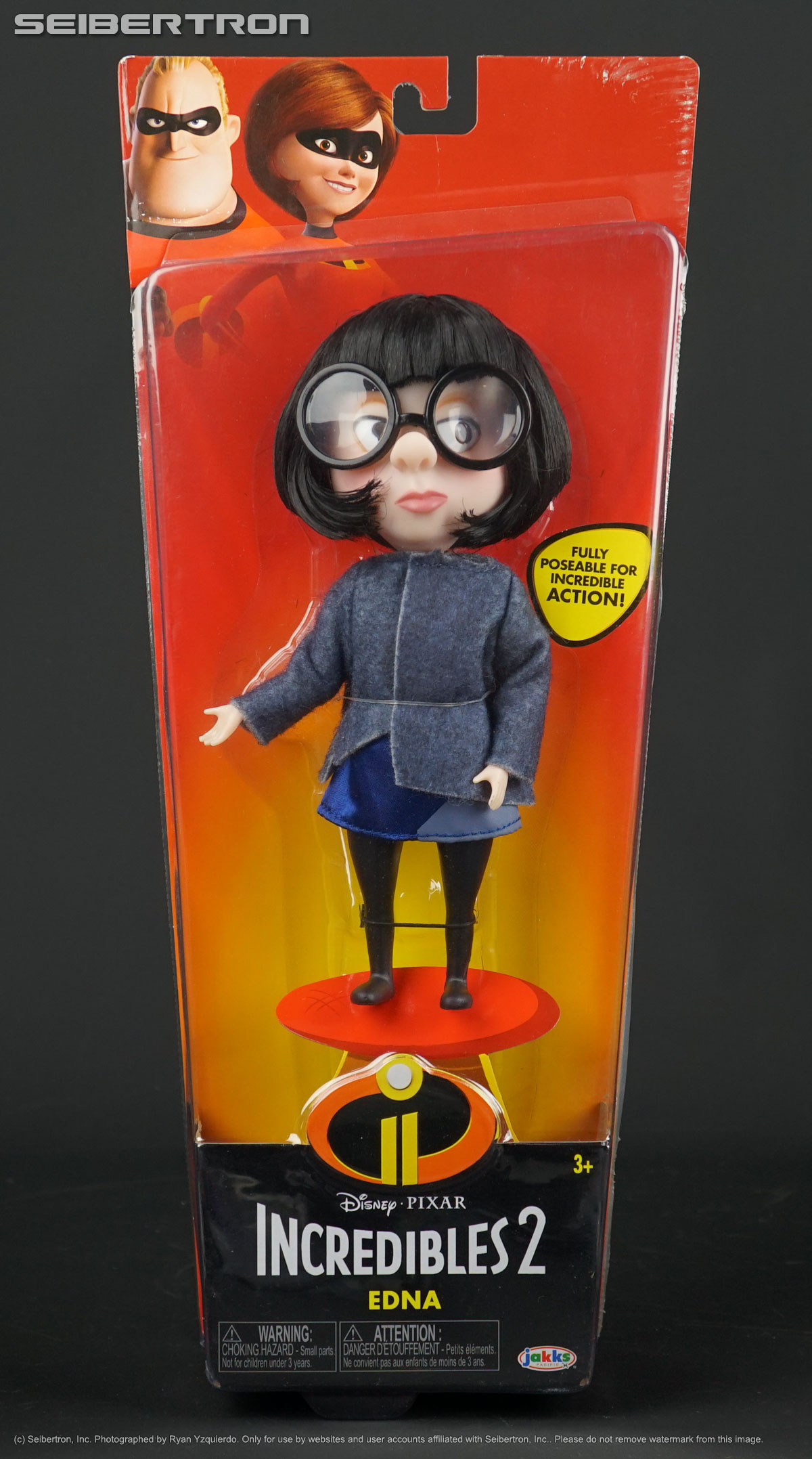 Edna Deluxe Costume Disney Incredibles 2 Articulated Doll Jakks Pacific New 39897524177 Ebay