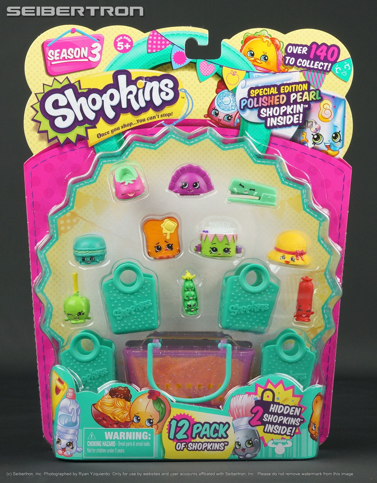 Shopkins 12-Pack SEASON 3 Hidden Special Edition Mocca Roon Sweet ...