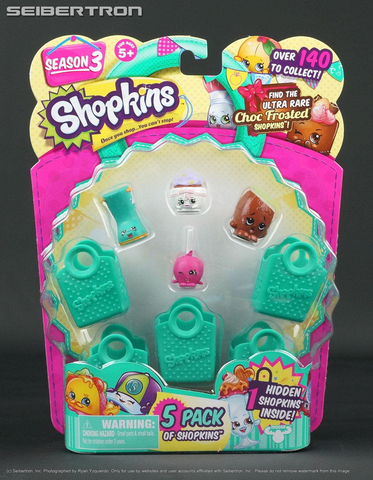 Details about Shopkins 5-Pack SEASON 3 Hidden Rare Patty Cake Jennifer  Rayne New
