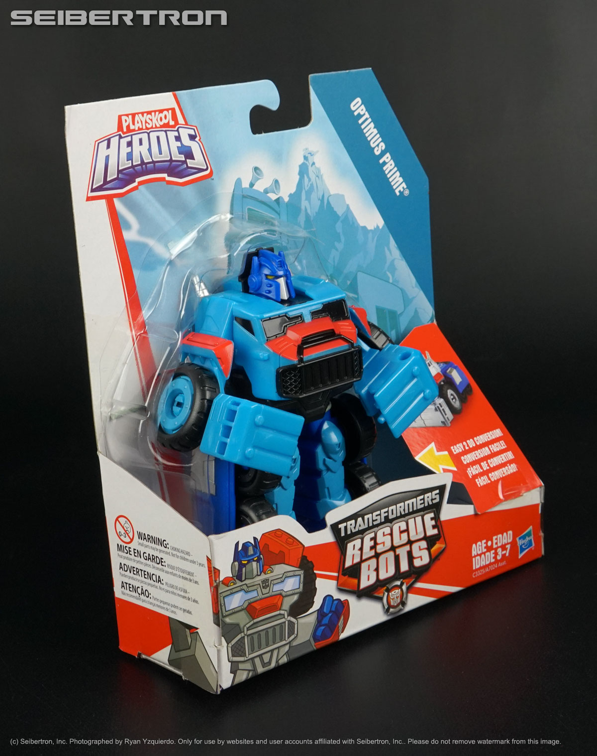 Rescan OPTIMUS PRIME Transformers Rescue Bots Playskool 2017 New Truck Diaclone