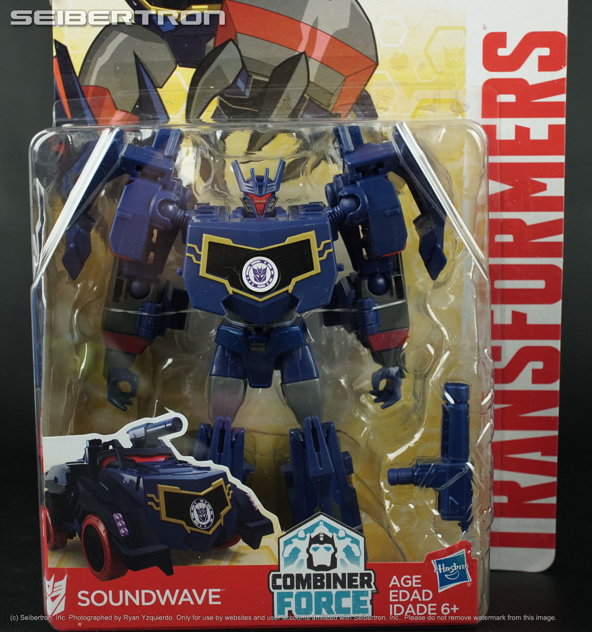 Transformers Robots in Disguise Warriors Class SOUNDWAVE Figure by Hasbro
