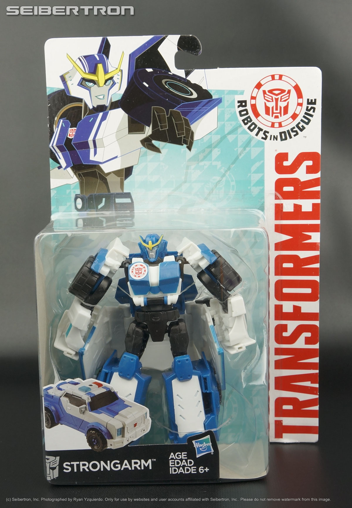 Strongarm Transformers Robots In Disguise
