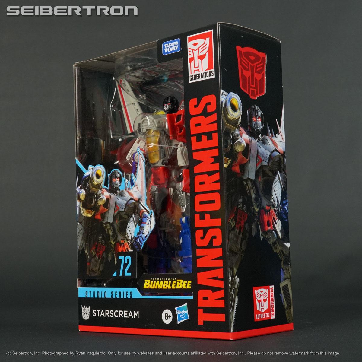 STARSCREAM Transformers Studio Series 72 Bumblebee Movie ...