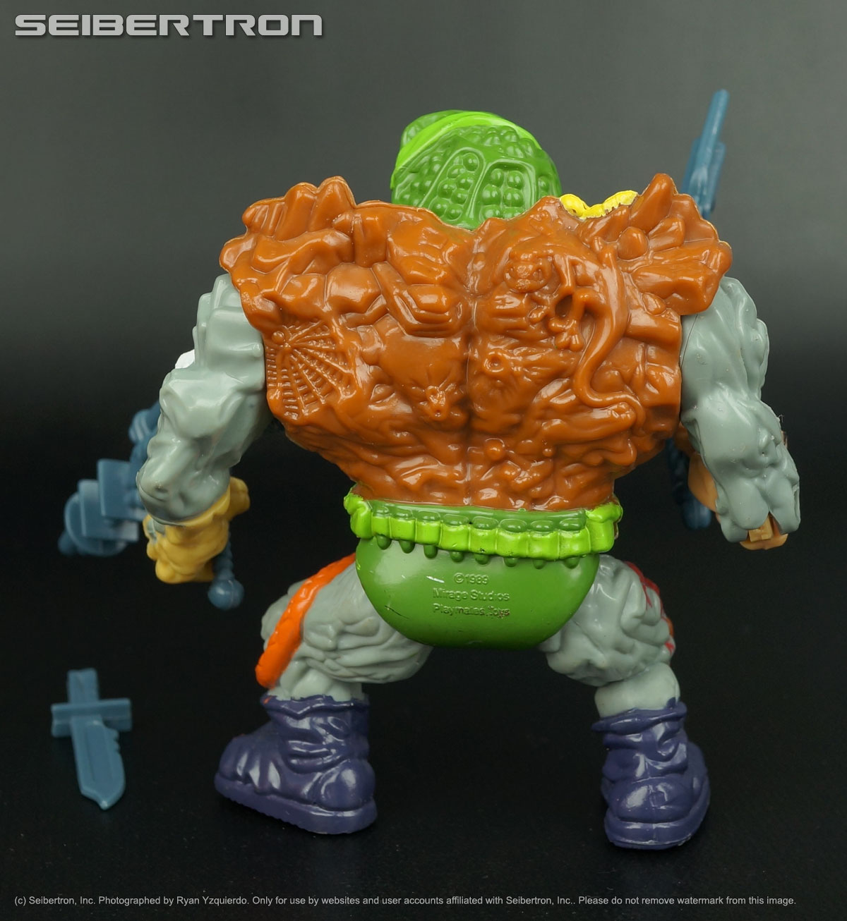 Teenage Mutant Ninja Turtles, Masters of the Universe, Transformers, Comic Books, DVDs and more listings from Seibertron.com: GENERAL TRAAG Teenage Mutant Ninja Turtles 100% complete vintage 1989 TMNT
