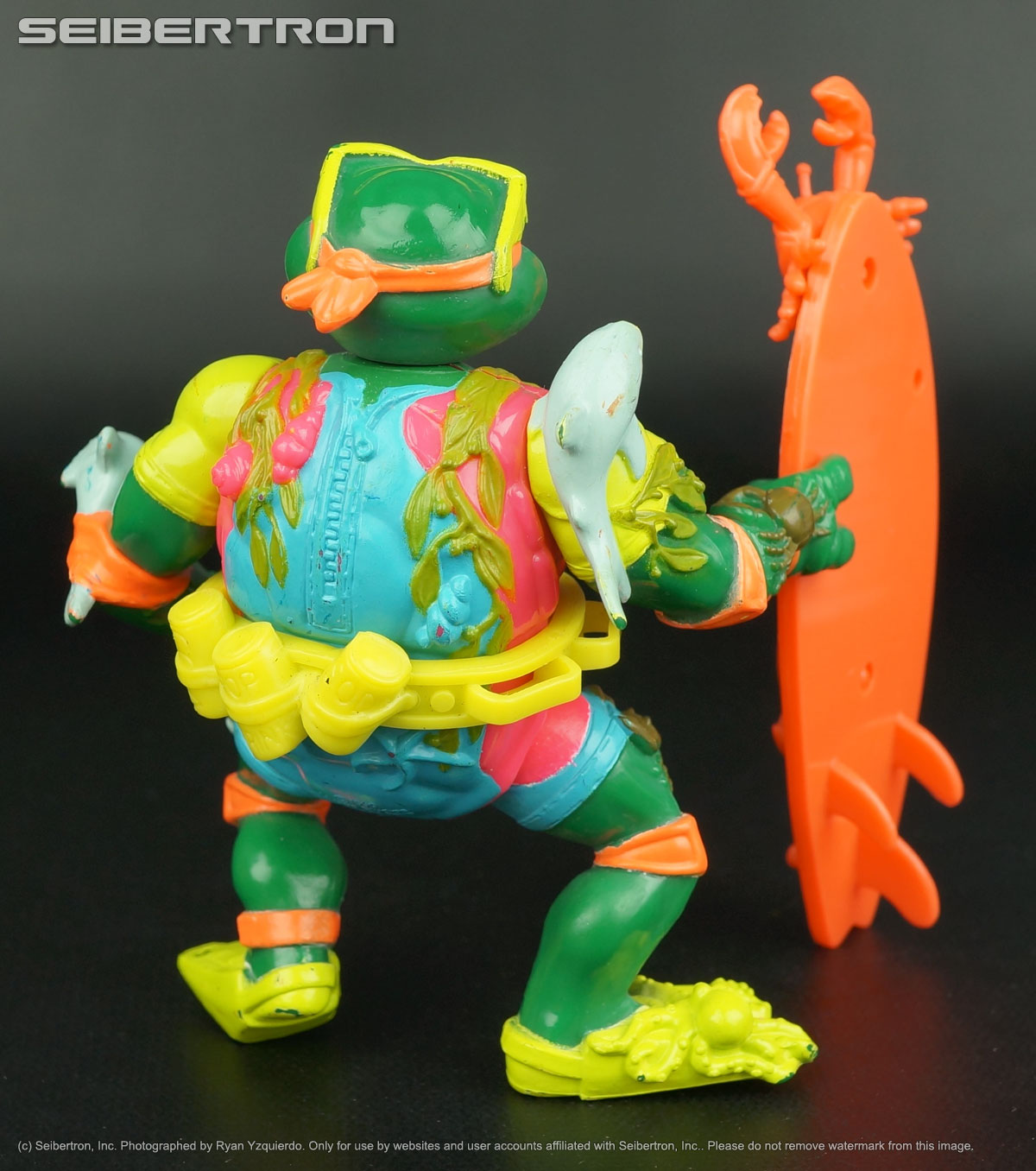 Teenage Mutant Ninja Turtles and Transformers listings from Seibertron.com: MIKE SEWER SURFER Teenage Mutant Ninja Turtles 100% complete vintage 1989 TMNT