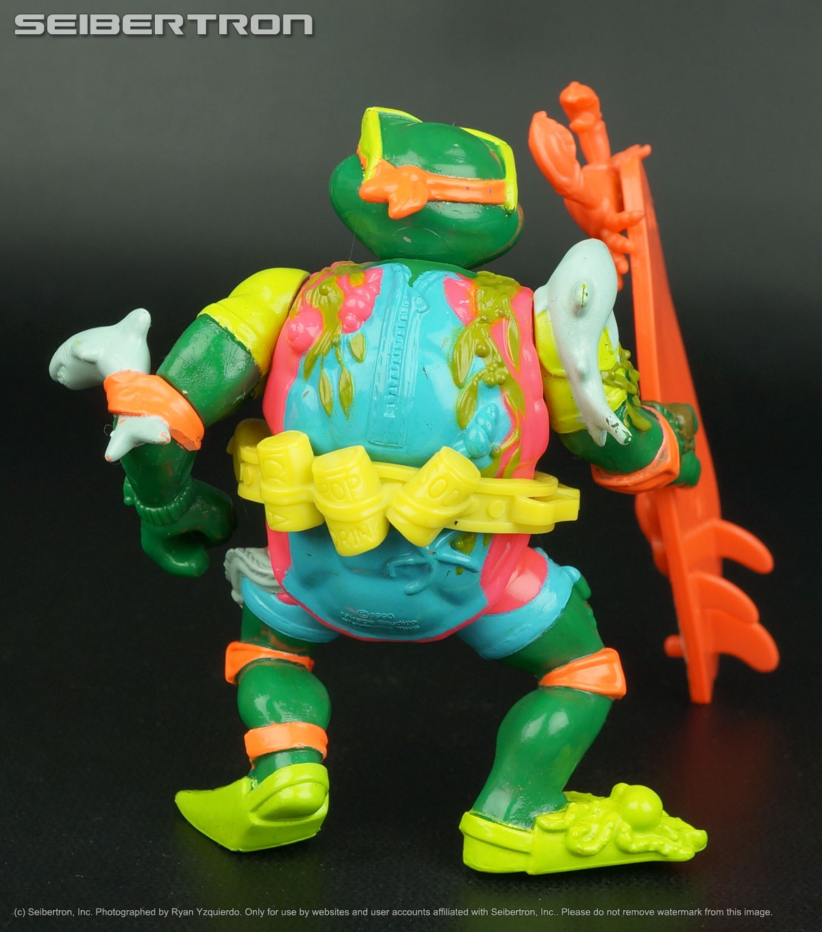 Teenage Mutant Ninja Turtles, Masters of the Universe, Transformers, Comic Books, DVDs and more listings from Seibertron.com: MIKE SEWER SURFER Teenage Mutant Ninja Turtles 100% complete vintage 1989 TMNT