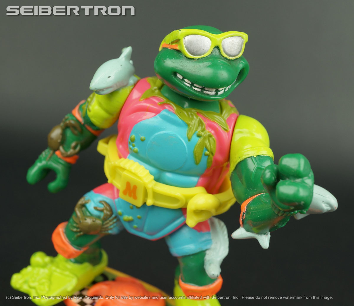 Teenage Mutant Ninja Turtles and Transformers listings from Seibertron.com: MIKE SEWER SURFER Teenage Mutant Ninja Turtles 100% complete vintage 1989 TMNT