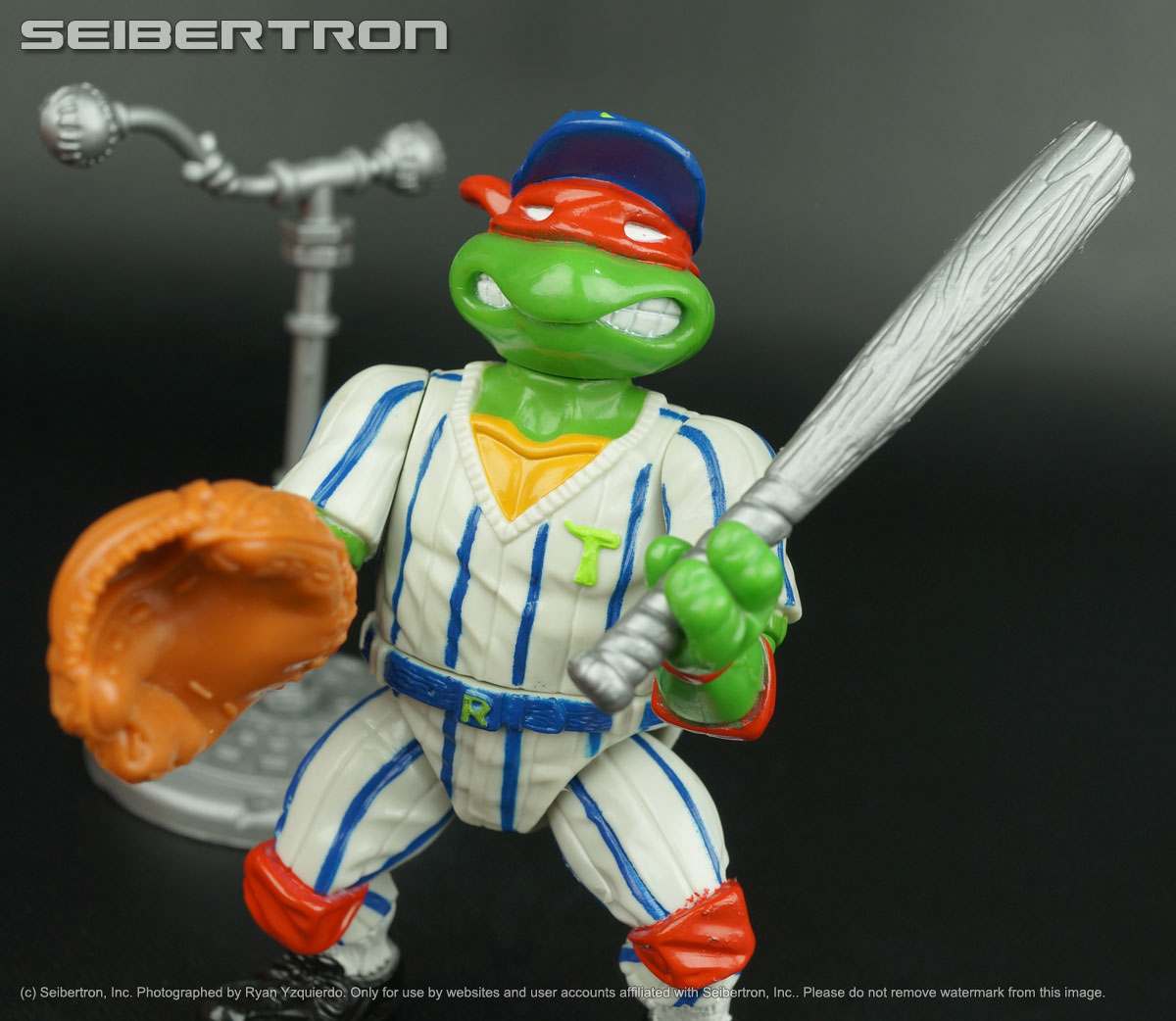 Teenage Mutant Ninja Turtles, Masters of the Universe, Transformers, Comic Books, DVDs and more listings from Seibertron.com: GRAND SLAMMIN RAPH Teenage Mutant Ninja Turtles complete TMNT vintage Raphael