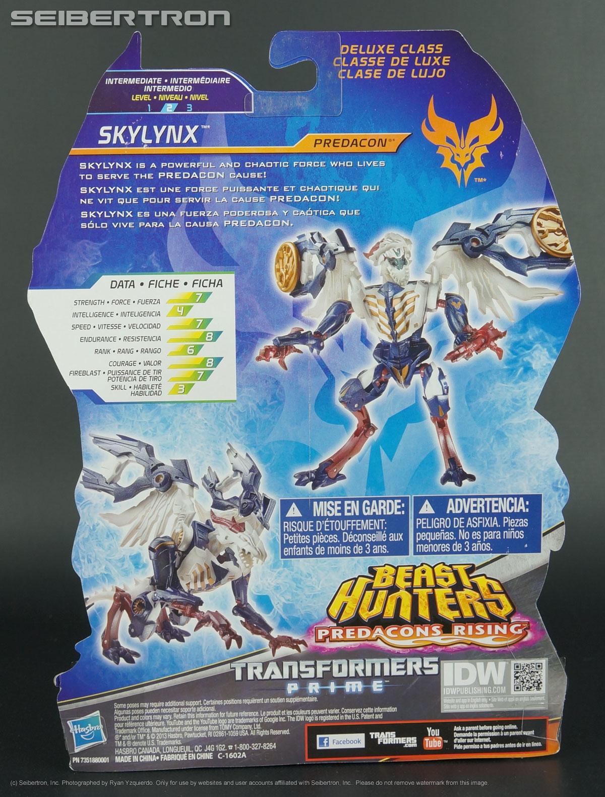 SKYLYNX Transformers PRIME BEAST HUNTERS Predacons Rising Deluxe Target SKY Lynx