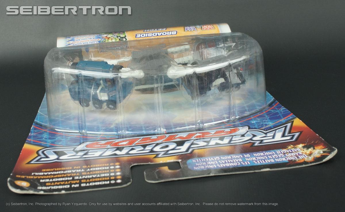 Transformers listings from Seibertron.com: Night Attack Mini-Con Team SCATTOR + FETCH + BROADSIDE Transformers Armada 2003 NEW