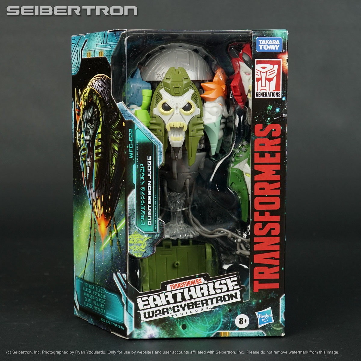 Transformers Earthrise Voyager Class Quintesson Judge IN STOCK!!