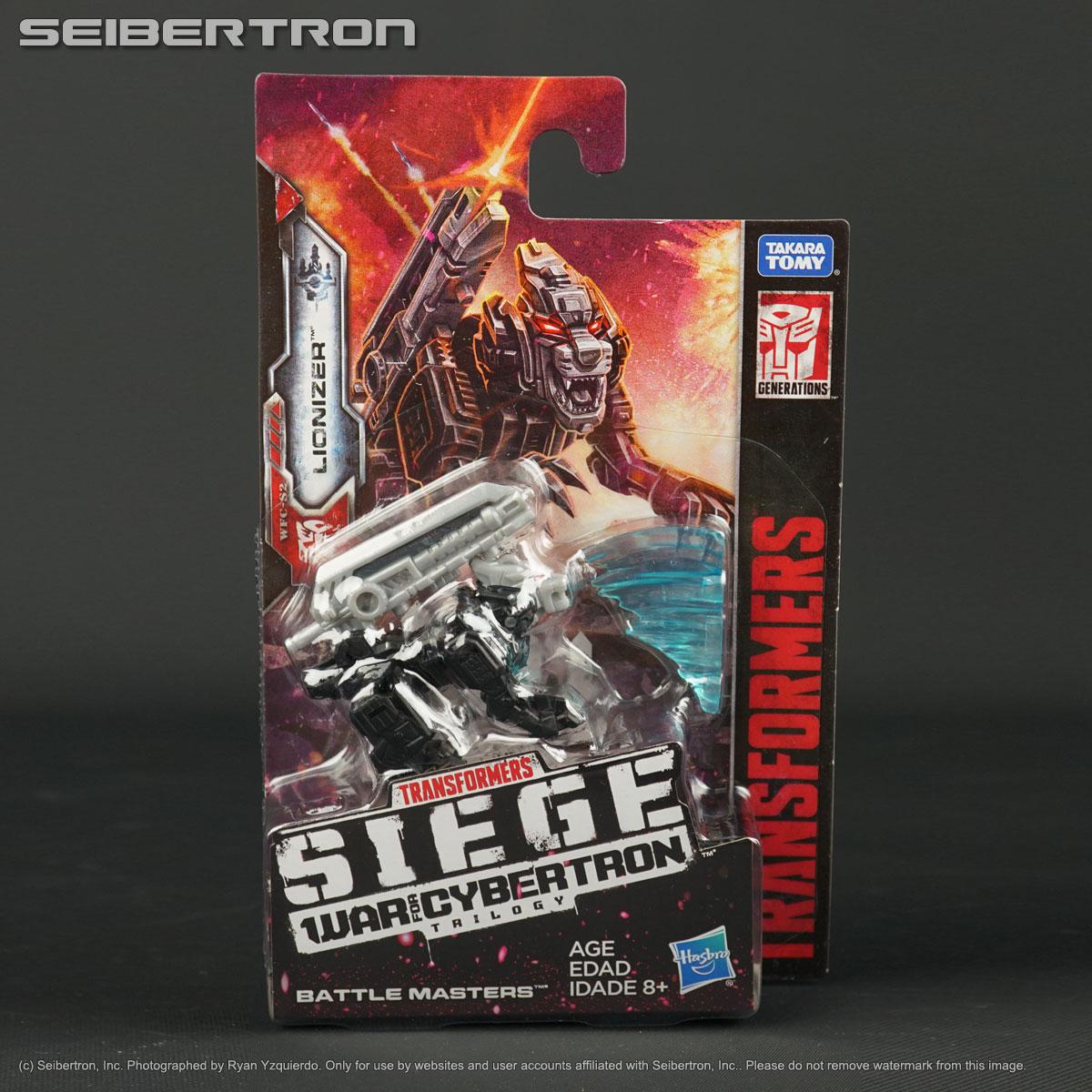 Transformers Generations War for Cybertron Siege Battle Masters WFC-S2 Lionizer