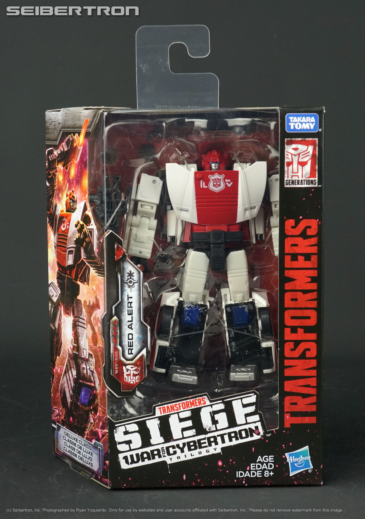 Transformers d/'assedio GUERRA per Cybertron voyager class action figure Hasbro Giocattolo