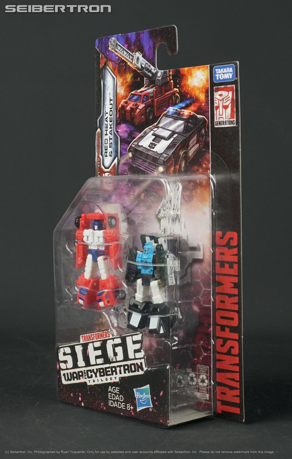 WFC-S18 Red Heat Stakeout Transformers siege Micromasters Rescue Patrol 2019