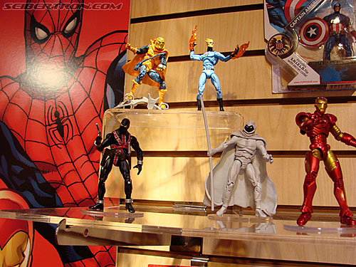 Toy Fair 2009 - Marvel Product Display Area