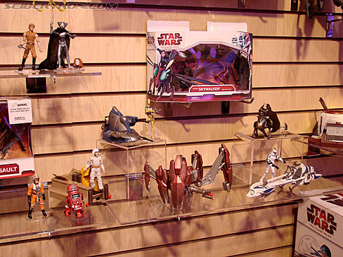 Toy Fair 2009 - Star Wars Product Display Area