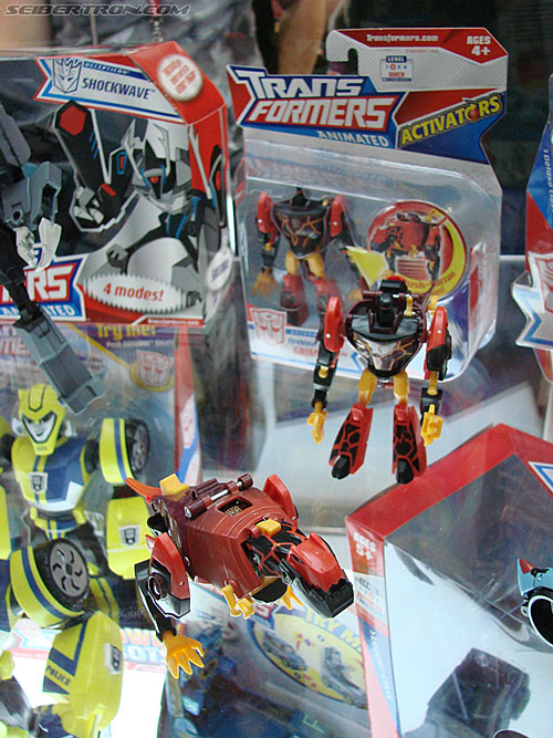 Transformers Animated figures