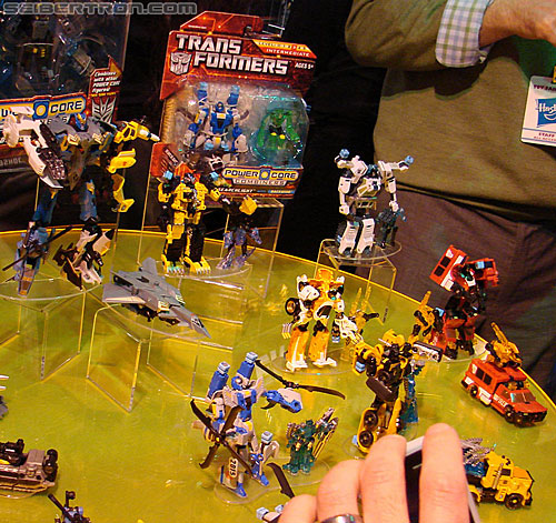 Toy Fair 2010 - Transformers Power Core Combiners