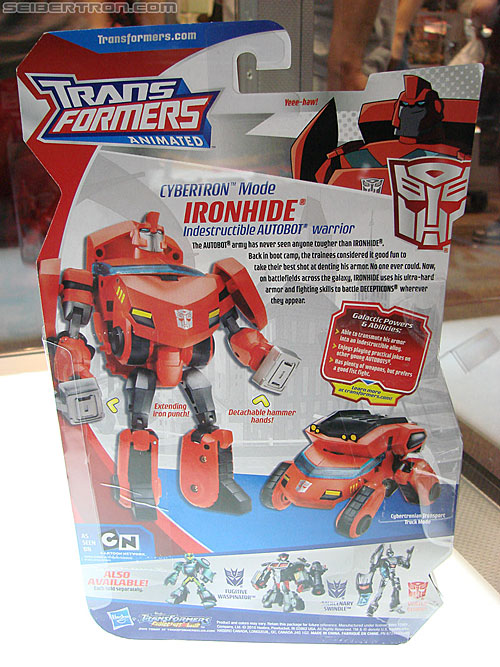 BotCon 2010 - Transformers Animated toys