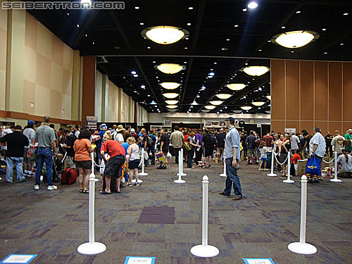 BotCon 2010 - Thursday Night Registration