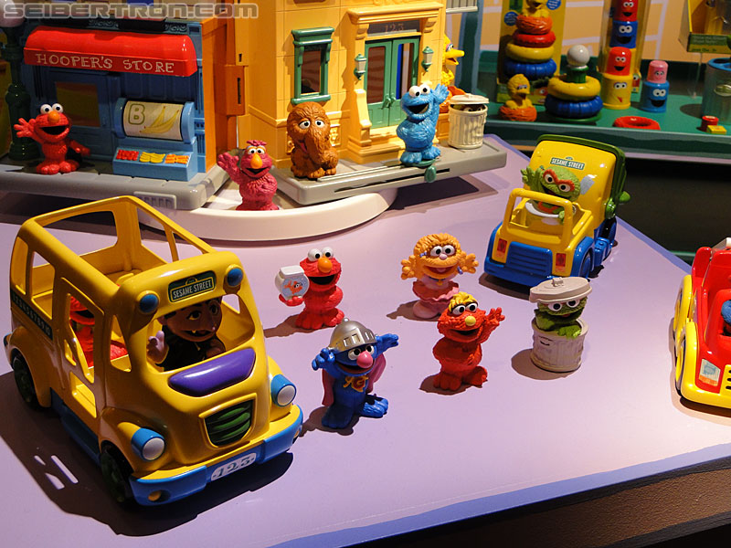Toy Fair 2011 - Sesame Street
