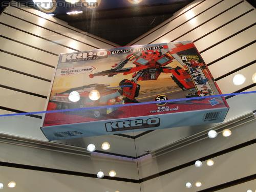 Botcon 2011 - Kre-O Transformers Display Area