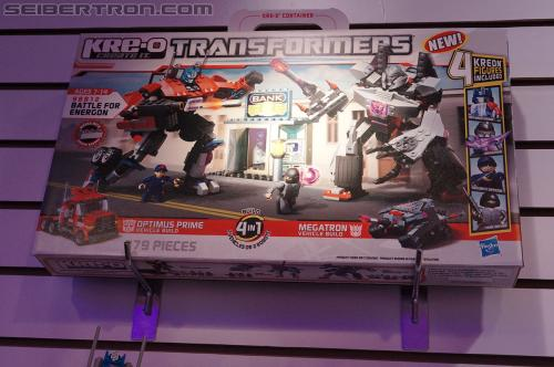 Toy Fair 2012 - Kre-O Transformers
