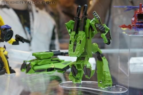 "BotCon 2012 - Transformers Generation ""Fall of Cybertron"" product display"