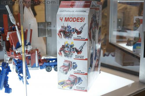BotCon 2012 - Transformers Prime product displays
