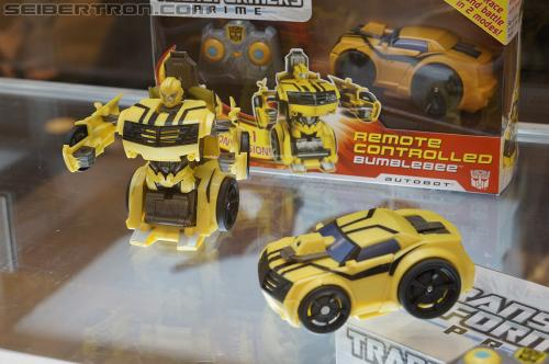 BotCon 2012 - Transformers Prime Cyberverse product display