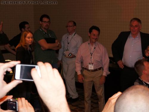 BotCon 2012 - Golden Ticket Reception
