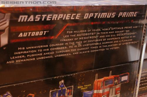 Masterpiece Optimus Prime