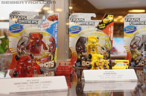 BotCon 2012 - Transformers Bot Shots products display