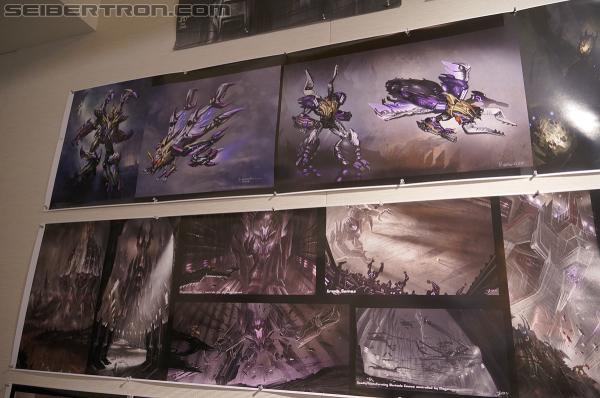 SDCC 2012 - High Moon Studios tour for Transformers fansites