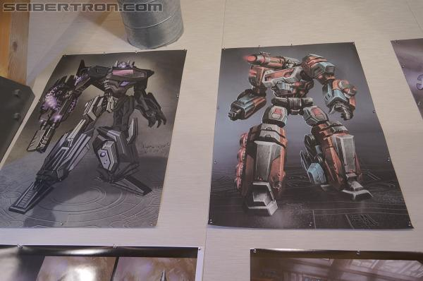 High Moon Studios tour for Transformers fansites