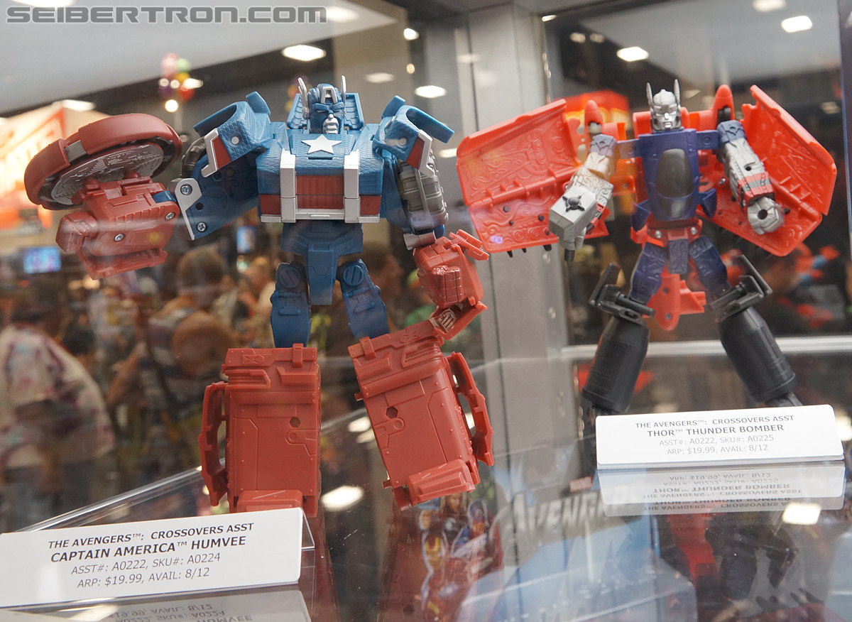 SDCC 2012 - Marvel Transformers Mech Machines and Jumpstarters