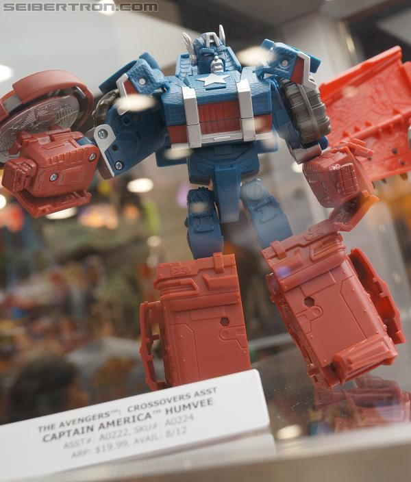 Marvel Transformers Mech Machines and Jumpstarters