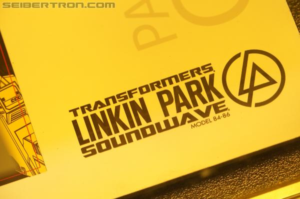 SDCC 2012 - Linkin Park SOUNDWAVE exclusive set